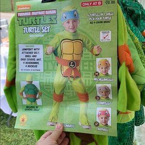 Ninja turtle Leonardo toddler costume 2t-3t